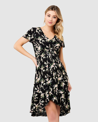 Ripe Maternity Elora Tie Front Dress