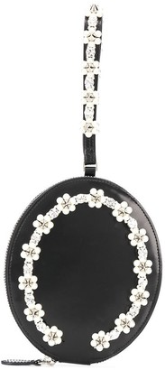 Simone Rocha Embellished Circle Clutch