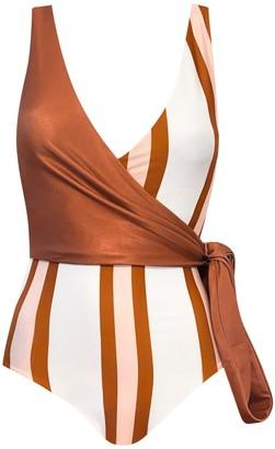 Baiia Tanami Reversible Wrapsuit