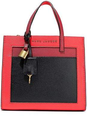 Marc Jacobs Grind Mini Color-block Pebbled-leather Tote