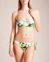 Parah Grafismi Floreali Bandeau Bikini