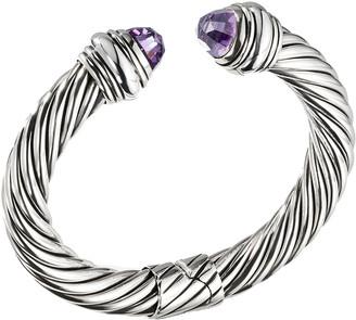David Yurman Cable Classics Silver Kick Cuff Bracelet