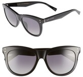 Marc Jacobs Women's 54Mm Gradient Polarized Sunglasses - Black/ Polar