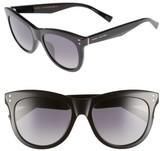 Marc Jacobs Women's 54Mm Gradient Polarized Sunglasses - Black/ Polar