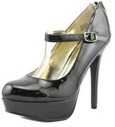 Material Girl Koko Open Toe Synthetic Platform Heel.