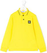 Stone Island Junior - long sleeved polo shirt - kids - Cotton/Spandex/Elastane - 2 yrs