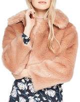 Miss Selfridge Faux Fur Jacket
