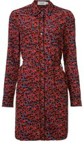 Coach floral print shirt dress - women - Silk - 4