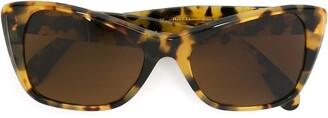Persol Pre Owned Tortoiseshell Sunglasses