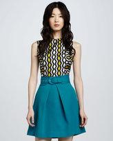 Milly Aude A-Line Skirt