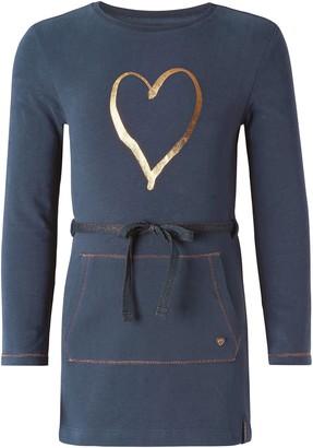Noppies Baby and Kids Girls Dress Norwell Dark Blue