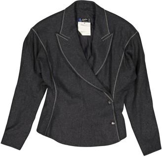 Montana Grey Wool Jackets