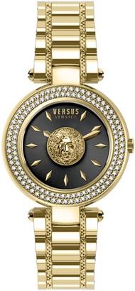 Versus Women's Brick Lane Crystal Black Watch, 36mm