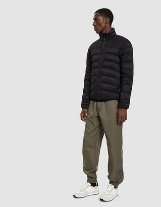 Canada Goose Black Label Men's Brookvale Jacket in Black, Size Small | Nylon/Recycled Polyester Lining/Polyester Padding
