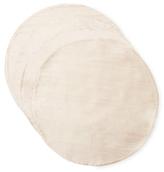 Ann Gish Dupione Silk Round Placemats (Set of 4)