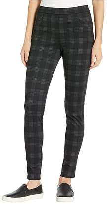 Sanctuary Grease Leggings (Carlyle Plaid) Women's Casual Pants