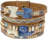 sweet deluxe MADITA Bracelet braun/blau mix