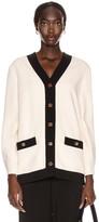 Gucci Long Sleeve Jacket in Ninfea White | FWRD