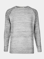 Burton Burton Another Influence Charcoal Cable Knit Jumper*