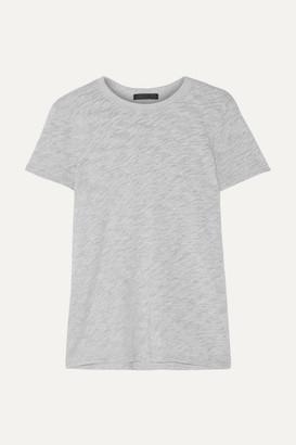 ATM Anthony Thomas Melillo Schoolboy Slub Supima Cotton-blend Jersey T-shirt - Gray