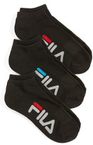 Fila Women's 3-Pack Logo Ankle Socks