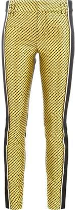 Haider Ackermann geomtric stripes trousers