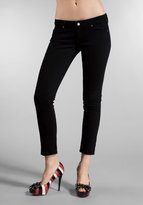 Paige Premium Denim Roxbury Crop with Laser P