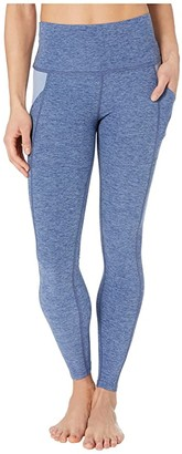Beyond Yoga Spacedye In The Mix High Waisted Midi Leggings (Serene Blue/Hazy Blue) Women's Casual Pants