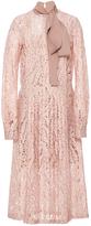 No.21 No. 21 Lace Tie Neck Dress