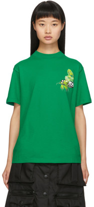 Off-White Off White Green Racing T-Shirt