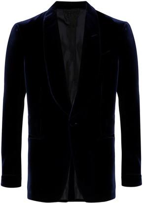 Tom Ford Single-Breasted Velvet Blazer