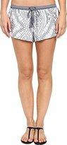 Rip Curl Women's Mayan Sun Boardwalk Printed Lycra Cover-Up Shorts