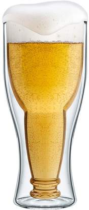 Final Touch Bottomsup Beer Glass