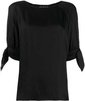 Boutique Moschino Tie Cuff Blouse
