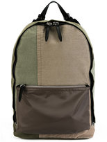 3.1 Phillip Lim canvas patchwork backpack - men - Cotton/Calf Leather/Nylon - One Size