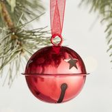 Pier 1 Imports Red Jingle Bell Ornament