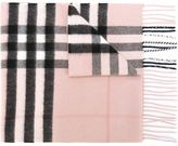 Burberry house check scarf - women - Cashmere - One Size