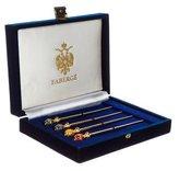 Faberge Embellished Stick Pin Set