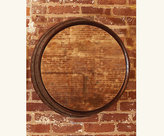 Barrelhead Mirror