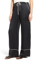 Majorelle Women's Eaton Silk Wide Leg Pants