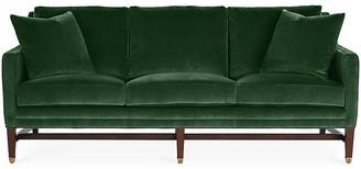 Michael Thomas Collection Arden Sofa - Emerald Velvet