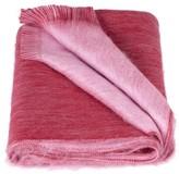 Alpaca Loca Double Scarf Red & Light Pink