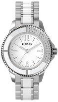 Versus By Versace Women's 3C64400000 Tokyo Stainless Steel White Dial Crystal Bracelet Watch