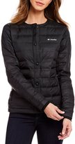 Columbia Northern Comfort Button Front Woven Jacket