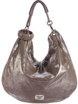 Jimmy Choo Metallic Solar Hobo