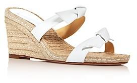 Alexandre Birman Women's Clarita Espadrille Wedge Slide Sandals