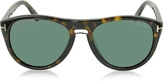 Tom Ford KURT FT0347 Aviator Sunglasses