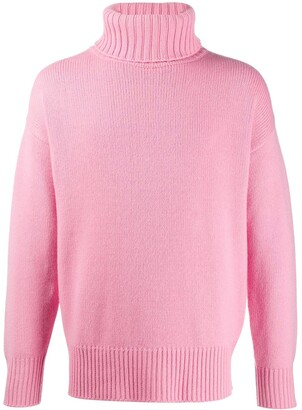 Extreme Cashmere Roll-Neck Knit Jumper