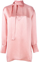 Valentino oversized blouse - women - Silk/Viscose - 42