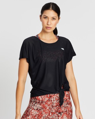 Running Bare Fit To Be Tied Workout Tee